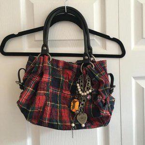 Juicy Couture Tartan Plaid Handbag